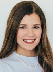 Katie Breland of Franklin was one of 51 winners of this year's Distinguished Young Women scholarship.