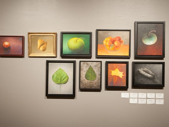 The Essence of Things exhibit at artspace included several still life paintings by Talbot Hopkins.