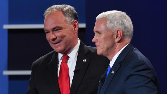 Fact check: Pence vs. Kaine in the VP debate
