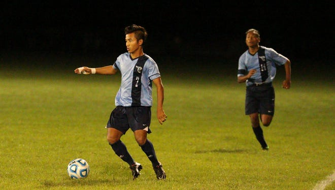 Boi Sang Thang scored 11 goals for Perry Meridian last season.