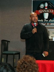 Memphis comedian Richard Douglas Jones was the feature act at Comedy at the Pinnacle recently.
