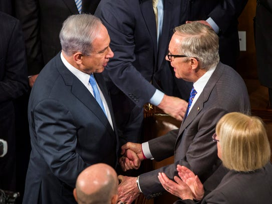 Obama Statement On Iran Election >> Congress united on Israel, divided on Netanyahu