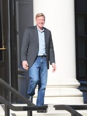 Carl Immich leaves federal court in White Plains on