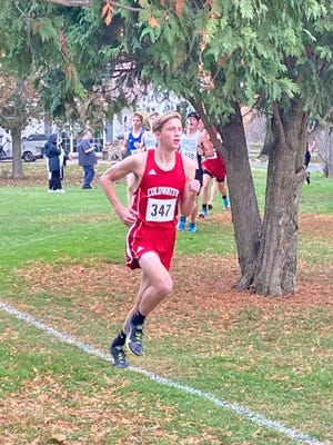 Coldwater's John Aerts earned Interstate 8 All-Conference honors with his fourth place finish, leading the Coldwater runner-up finish Tuesday.