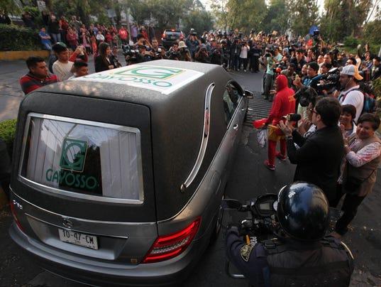 Mexico Chespirito Obit