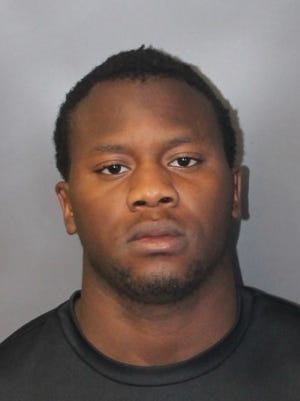 Rotchill Seme in an October 2017 Brockton police booking photo.
