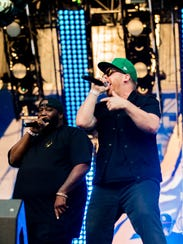 Killer Mike, left, and El-P of Run The Jewels