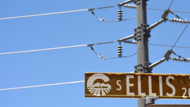 A proposed route for power lines along Ellis Road has many residents upset.