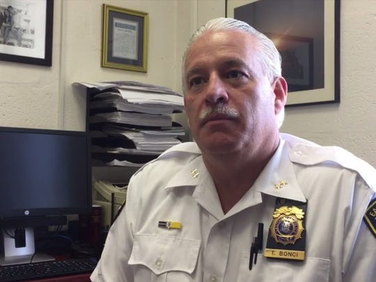 Eastchester Police Chief Timothy Bonci speaks about