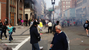 Photo taken by David Green after the Boston Bombing