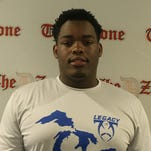 Muskegon junior tackle Anthony Bradford mulling MSU offer, others