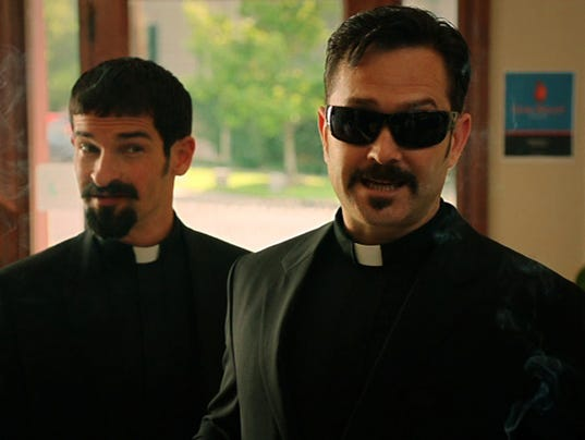 Hell Baby priests
