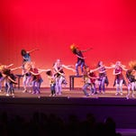 Dancers from the group Kalamity raise money for Jonah Tuttle Saturday, May 21, 2016.