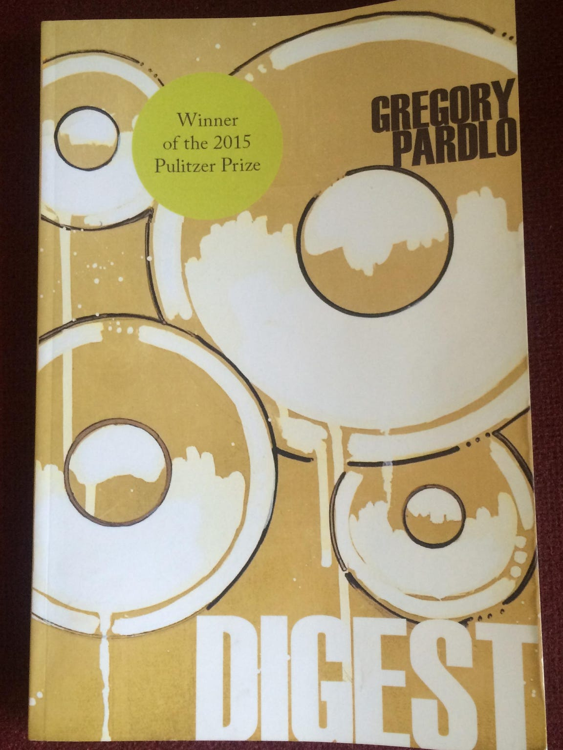 'Digest' by Gregory Pardlo was rejected by multiple