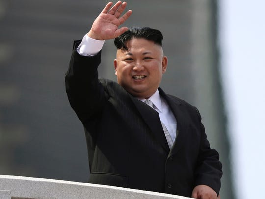 North Korean leader Kim Jong Un was present to observe