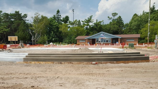 The new Rotary Pavilion at Neshotah Park will be the headquarters for the Kites Over Lake Michigan event on Labor Day weekend.