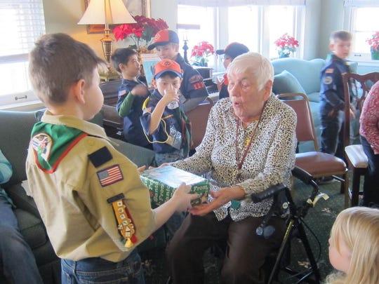 Each year Cub Scout Pack 113 of Rockawaytakes part