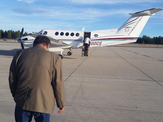 FMN Navajo Nation Aircraft 1103