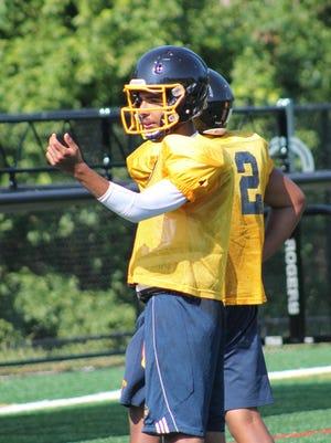 Senior Jairus Copeland is battling Roe Taylor for the Walnut Hills quarterback job.