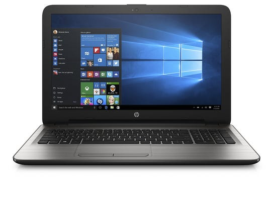 HP's 15-inch laptop runs Window 10 for $459 on sale.