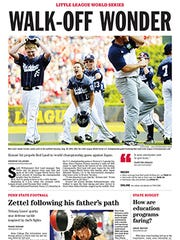 This is a sneak preview – a mockup- of the York Daily