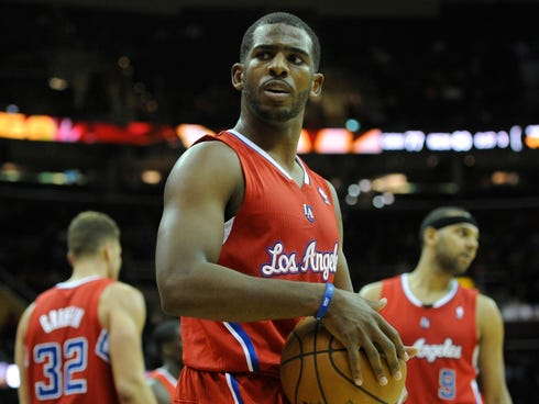 Chris Paul will miss 3-5 weeks with a separated shoulder.