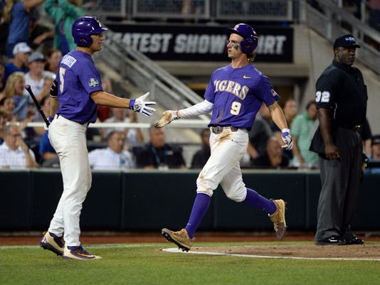 NCAA Baseball: College World Series-Florida vs LSU
