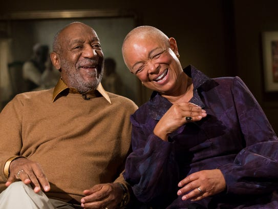 Bill Cosby and wife Camille, shown on Nov. 6, are major
