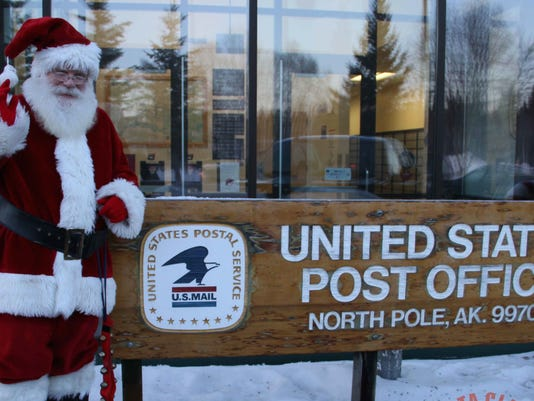 Does Usps Run On Christmas Eve.Santa Claus Running For City Council In North Pole