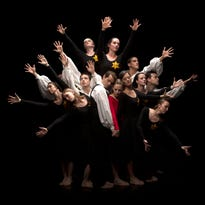 "Dance Kaleidoscope in rehearsals for Brian Honigbaum's ""Remembrances"" at Clowes Memorial Hall Oct. 16-18."