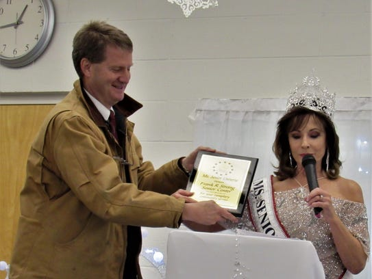 Another honor (but no crown) went to Mayor Tim Burchett,