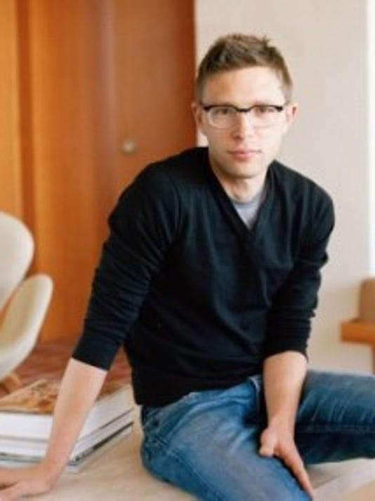Author Jonah Lehrer spoke at a lunch hosted by the Knight Foundation Tuesday, his first public speech since admitting to plagiarism. His mother, Jean Hively, grew up in York County. (Submitted photo)