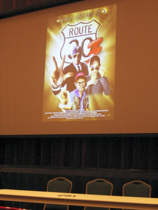 Route 30 Three!, the final film in a trilogy by Director John Putch, premiered at the Capitol Theatre, Chambersburg, Saturday.