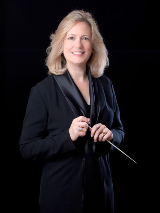 Maryland Symphony Orchestra music director Elizabeth Schulze. Photo courtesy of Maryland Symphony Orchestra