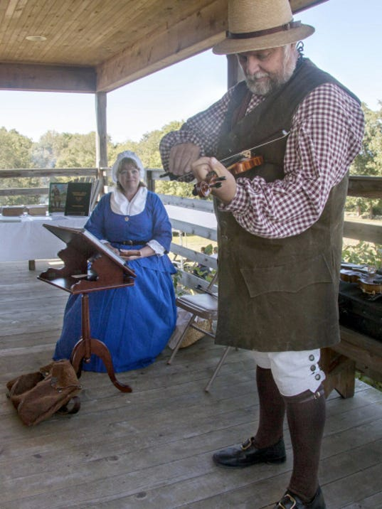 "William and Joyce Weaver, of the musical group ""The Weavers,"" will perform in historic character at the 1820s Farm Weekend Aug. 15 and 16 at Conococheague Institute, Welsh Run."