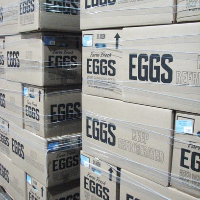 Feds: Rodents, filth found at N.C. farm tied to massive egg recall