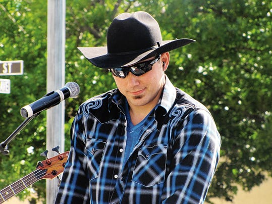 County artist Vince Alten is working hard to make a name for himself in the local music scene. His next big show is with other regional country artists for the Zia Country Splash Bash on June 20.