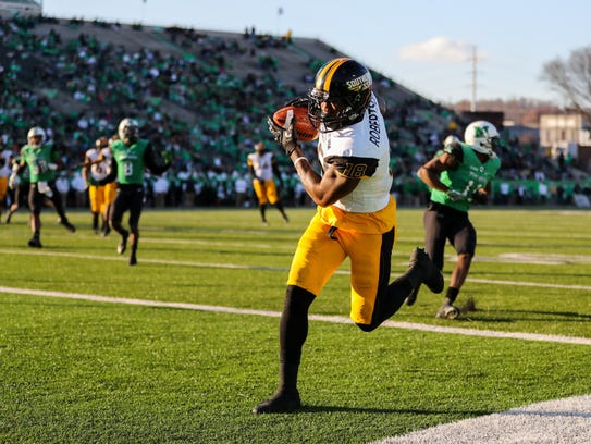 Southern Miss Golden Eagles wide receiver Korey Robertson