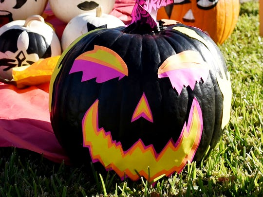The 25th Annual Pumpkin Shine on Line at Betty Virginia