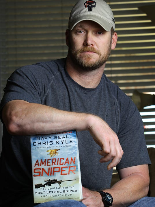 AP AMERICAN SNIPER SHOOTING A FILE USA TX