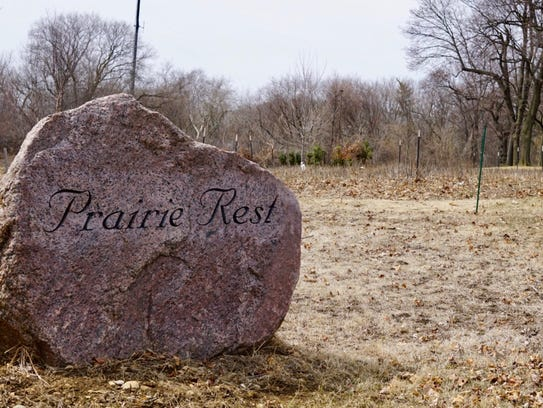 Prairie Rest, the green burial section of Forest Home