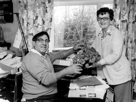 Doc and Katy Abraham had a longtime popular gardening
