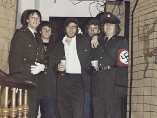 In this photo from the 1980 edition of Spectrum, the