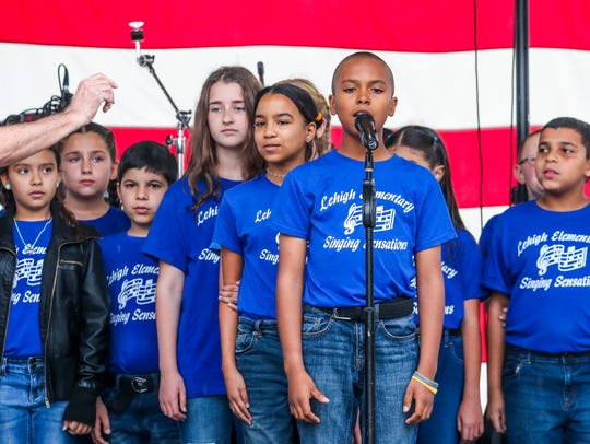 The Lehigh Singing Sensations performed during the 2018 Lehigh Spring Festival.
