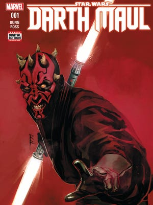 A new 'Star Wars: Darth Maul' comic book will explore the Sith apprentice before his appearance in 'Phantom Menace.'