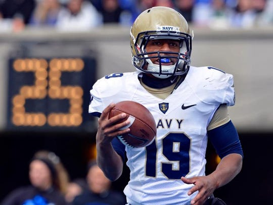 Quarterback Keenan Reynolds (19) has a 21-11 career