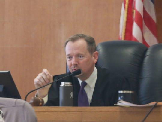 Milwaukee County Circuit Judge Mark Sanders