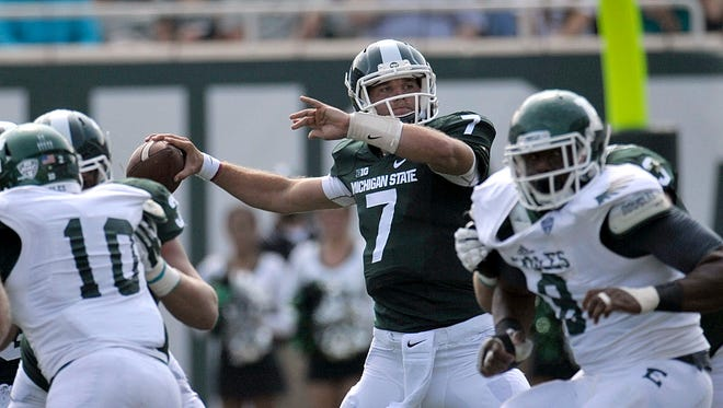 Michigan State quarterback Tyler O'Connor
