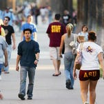 The cost of college is going up again next year for students at Arizona State University and for incoming students at the University of Arizona and Northern Arizona University, although the increases are more modest than during the recession.
