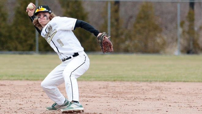 Garrett Breault and his Howell baseball teammates lost 4-3 to Lakeland over spring break. The Highlanders will return to action Tuesday at home against Summit East Side.